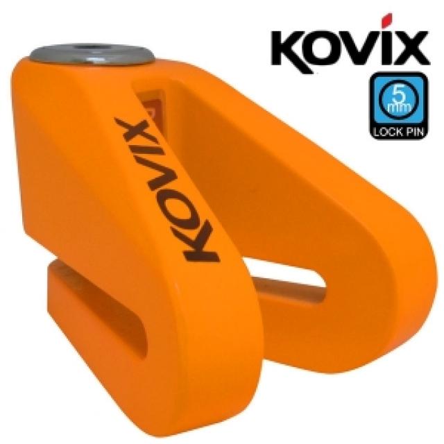 [대폭할인] 코빅스 KV1-FO (형광오랜지) 디스크락 락핀5mm