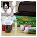 [campingmoon] 세면 도구 수납 가방 (PVC 나일론 원단)
