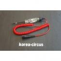 EECT400R Circuit Tester, Digital Display, Red, 12V (3-19.9V DC Range) 스냅온 전압 테스터
