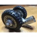 코뿔소 텅잭 캐스터 휠 (미국식 2인치 텅잭 전용)