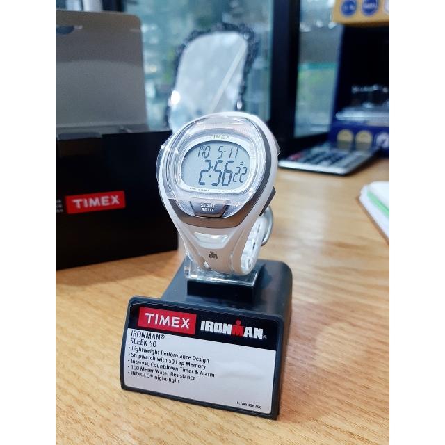 TIMEX 아이언맨 시계(SLEEK 50) 정품 86,200원에 판매합니다(하얀색, 형광색 철인3종 시계 30% 할인)