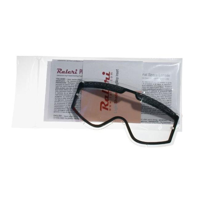 RALERI PRORIDE 고글 전용 교체렌즈(더블타입) 클리어 ECC